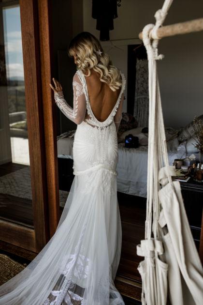 modern bohemian bridal | rue de seine